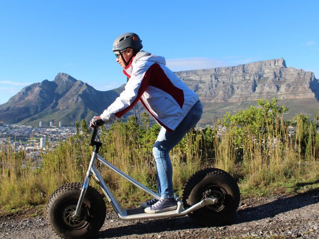 Cape Town Scooter Tours | Table Mountain | Cape Adventure Zone